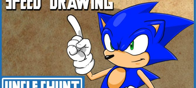 SPEED DRAWING: Sonic the Hedgehog